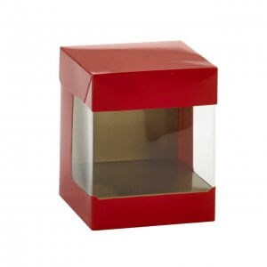 Display cube rood